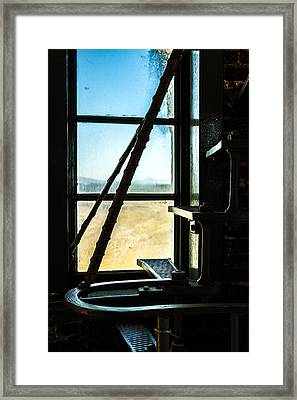 Framed Print featuring the photograph Cape Blanco Lighthouse 3 by Randy Wood