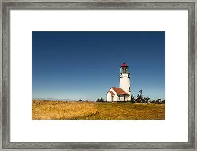 Cape Blanco Lighthouse Framed Print by Randy Wood