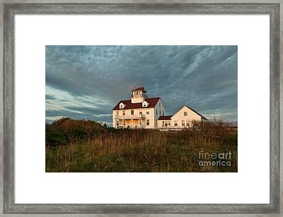 Cape Cod Coast Guard Station Framed Print by John Greim