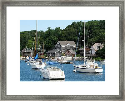Framed Print featuring the photograph Cape Cod by Jan Cipolla