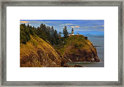 Cape Disappointment  Framed Print