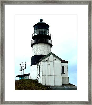 Cape Disappointment Lighthouse Framed Print
