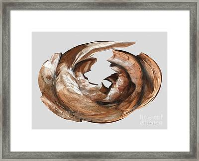 Cape Driftwood One Framed Print
