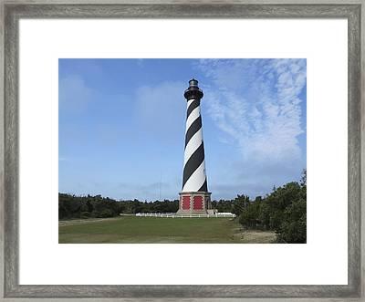 Cape Hatteras Light House Framed Print