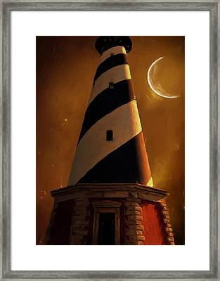Cape Hatteras Framed Print by Lourry Legarde