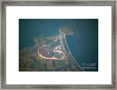 Cape Kazantip, Ukraine Framed Print