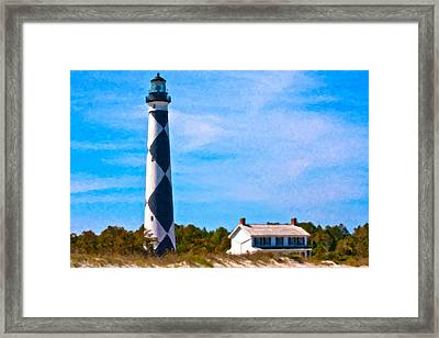 Cape Lookout  Framed Print by Betsy Knapp