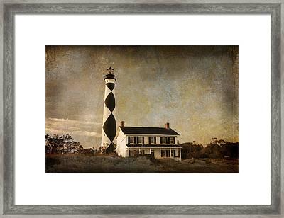 Cape Lookout Framed Print by Joye Ardyn Durham