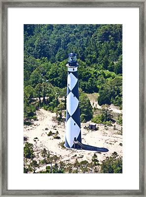 Cape Lookout Lighthouse Framed Print by Betsy Knapp