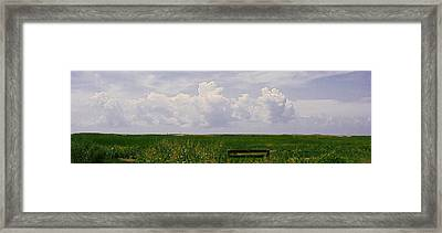 Framed Print featuring the photograph Cape Marsh by Michael Friedman