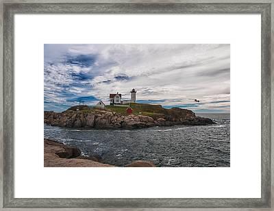 Cape Neddick Light Station Framed Print
