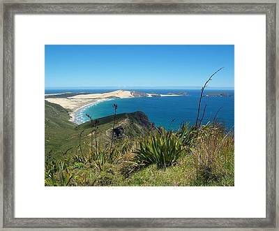 Framed Print featuring the photograph Cape Reinga - North Island by Peter Mooyman