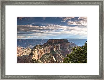 Cape Royal North Rim Grand Canyon Framed Print