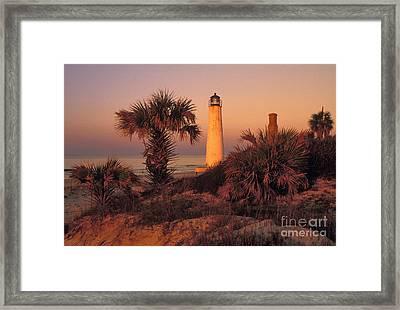 Cape Saint George Lighthouse 3 - Fs000776 Framed Print by Daniel Dempster