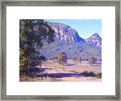 Capertee Valley Australia Framed Print