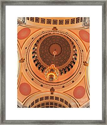 Capital Rotunda Framed Print