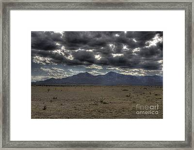 Capitan Clouds Framed Print