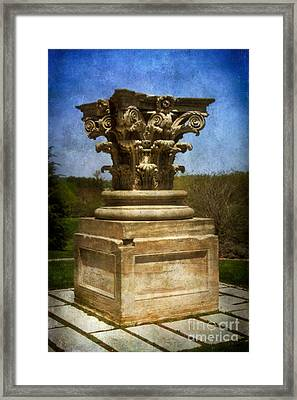 Capitol Capital Framed Print by Susan Isakson