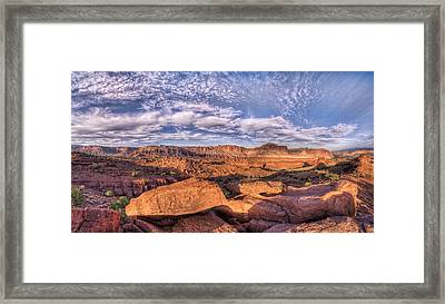 Capitol Reef Sunset Framed Print by Stephen Campbell
