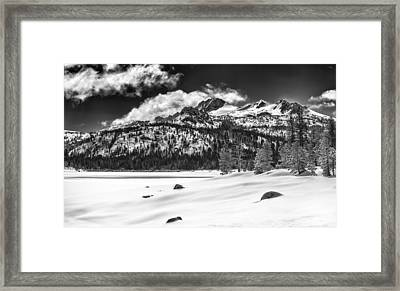 Caples Lake Framed Print