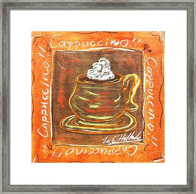 Cappaccino Framed Print by Lee Halbrook