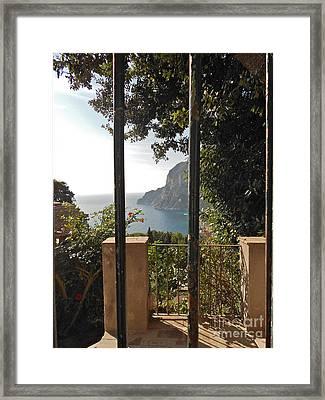 Capri Framed Print