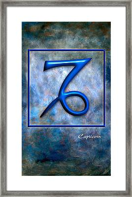 Capricorn  Framed Print by Mauro Celotti