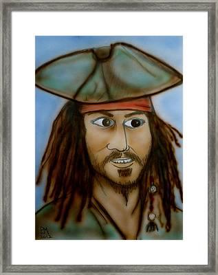 Capt. Jack Framed Print by Pete Maier