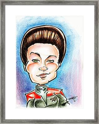 Captain Jayneway Framed Print by Big Mike Roate