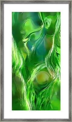Captivating Flow Framed Print by Terril Heilman