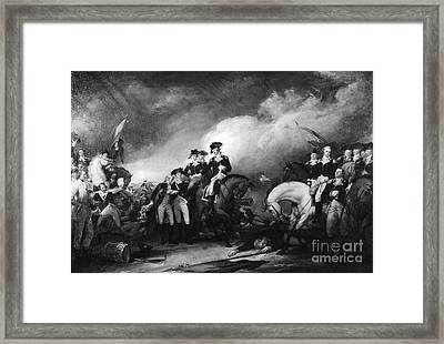 Capture Of The Hessians At Trenton Framed Print