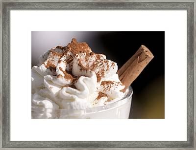 Capuccino Framed Print by Karin Haas
