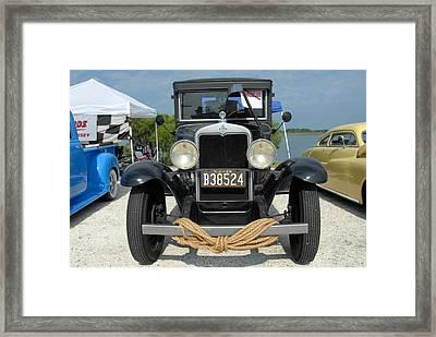 Car 198 Framed Print by Joyce StJames