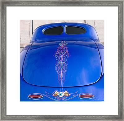 Car Art Framed Print by Karen Lee Ensley