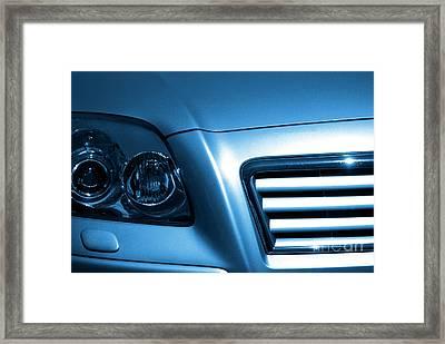 Car Face Framed Print by Carlos Caetano