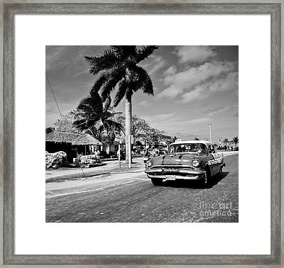 Car Framed Print by Lelya Kupina