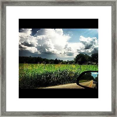 Car Rides.  Framed Print