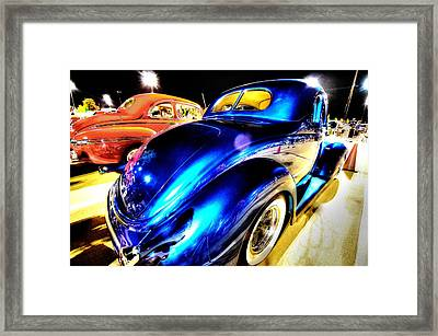 Car Show 3 Framed Print