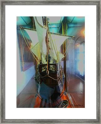 Carabela Framed Print by Luis oscar Sanchez