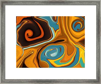 Caramel Dreams Framed Print