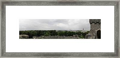 Cardiff Castle Panorama Framed Print