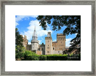 Cardiff Castle Framed Print by Susan Wall