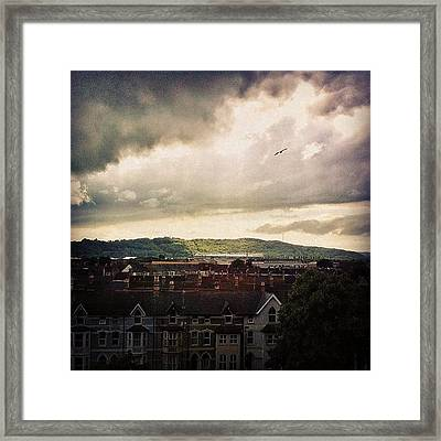Cardiff City Framed Print