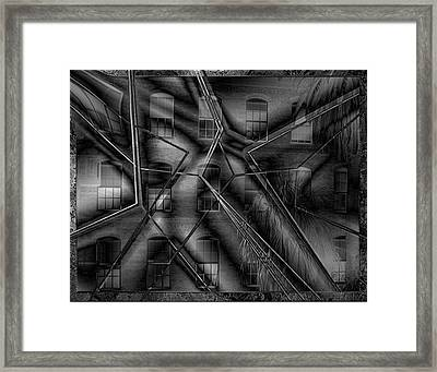 Care Not Framed Print
