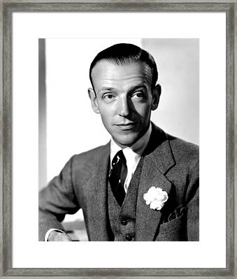 Carefree, Fred Astaire, 1938 Framed Print