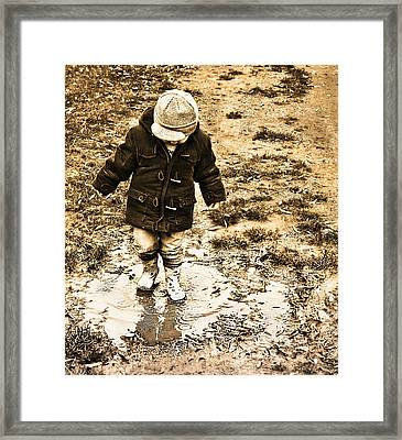 Carefree Framed Print by Wayne Baillie