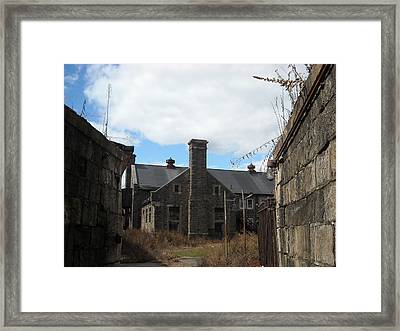 Framed Print featuring the photograph Caretaker's Mansion by Christophe Ennis