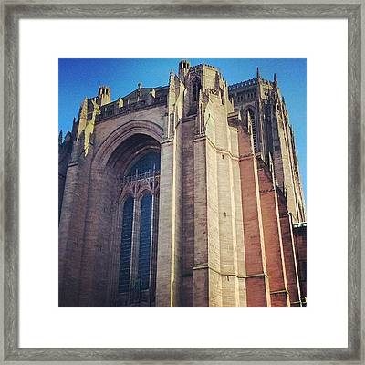 #carhederal #church Framed Print