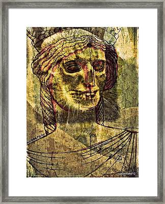 Cariatides Muertas II Framed Print by Paulo Zerbato