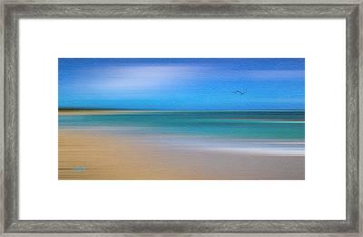 Caribbean Beach Framed Print